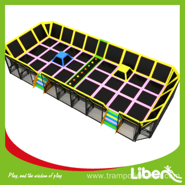 Child indoor trampoline area