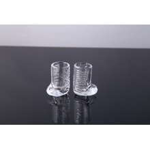 handmade boot shaped shot glass cup for white spirit