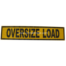 oversize load ahead banner