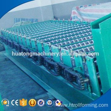 Automatic aluminum aluminium corrugated roof machine manufacture