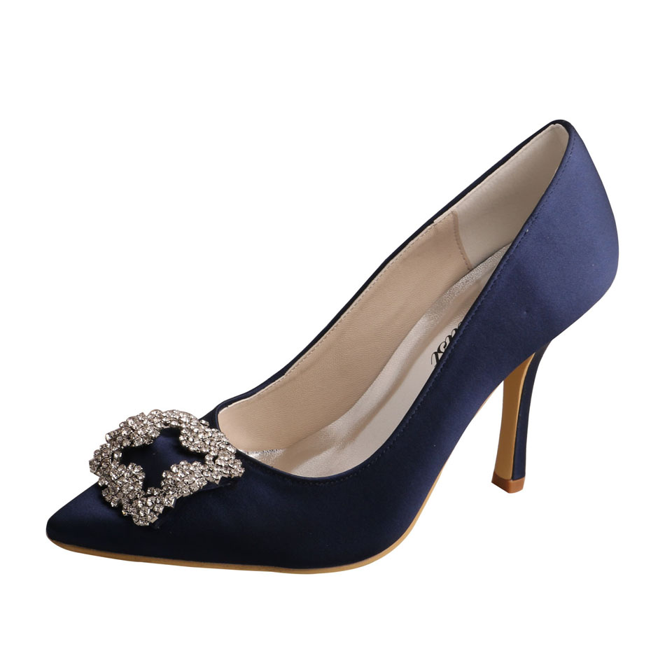 Navy Blue Special Occasion Shoes