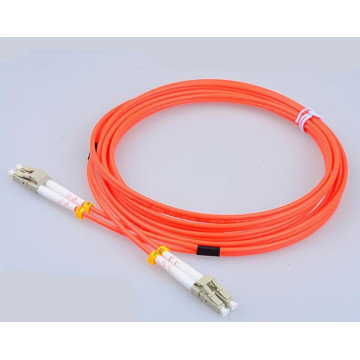 Leading for Fiber Patch Cables LC-LC Duplex OM1 OM2 Fiber Optic Patch Cable export to Cuba Suppliers