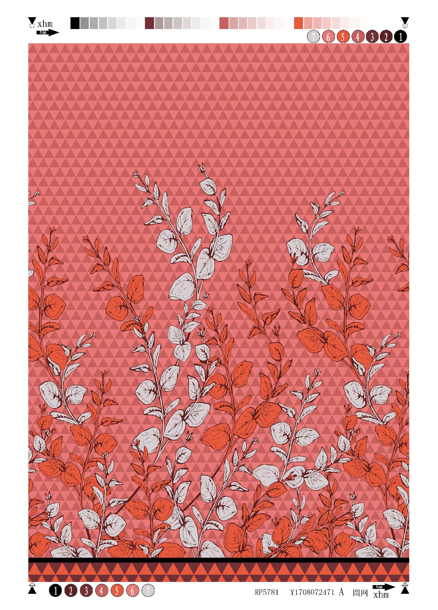 Polyester Bubble Crepe Printing Fabric Texture Flower