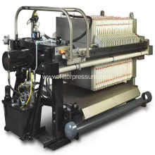 Mechanical Chemical Industry Chamber Membrane Filter Press