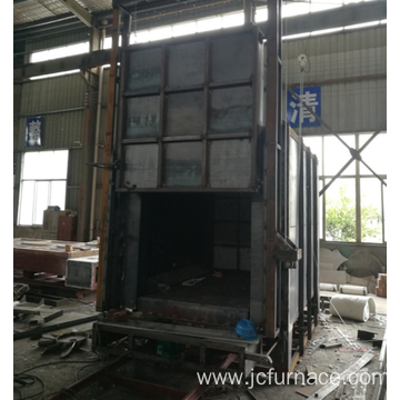Aluminum alloy aging car type furnace