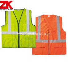 Warning  Safety reflective garment with customized logo
