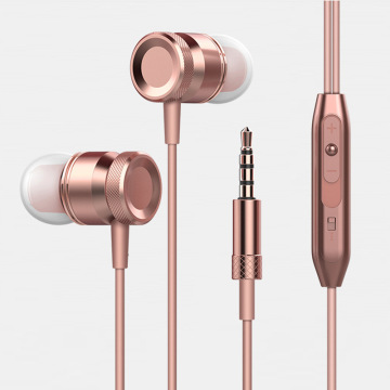 Metal earphones bose hearphones