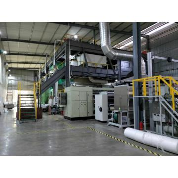 SSS PP spunbonded nonwoven fabric making machine