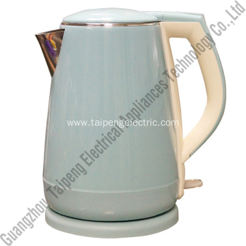China New Product for Stainless Steel Electric Tea Kettle Double wall water kettle supply to Italy Manufacturers