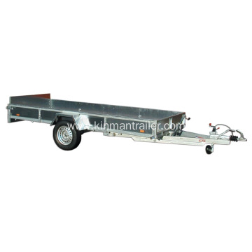 Box Trailer For Cargo Transport