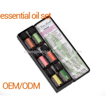 Organic Essential Oil 10ml Gift Set