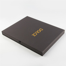 Black Paper Gift Shipping Box for Packaging
