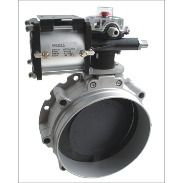 Air Operated Cement  Butterfly Valve
