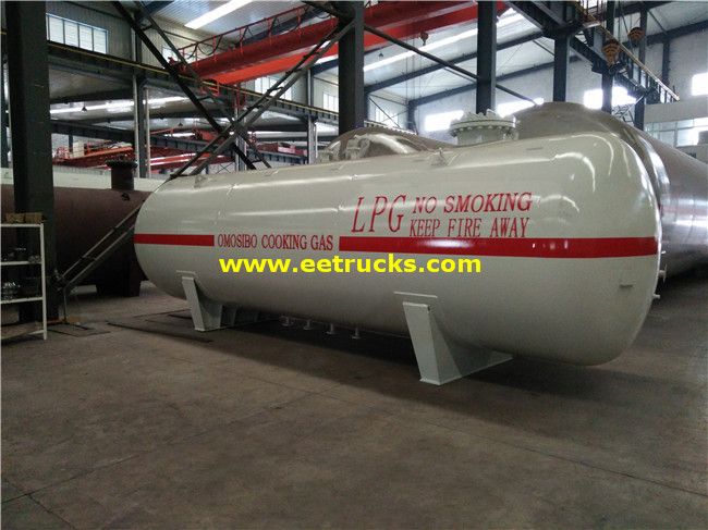 12MT Propylene Gas Bullet Tanks