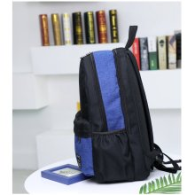 Korean fashion color matching leisure backpack