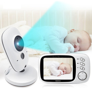 3.2 Inch LCD IR Night Vision Baby Monitor