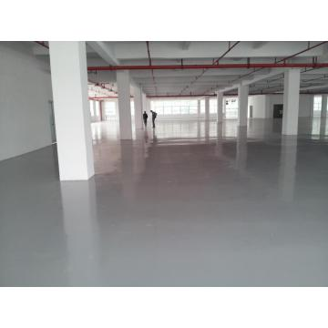 Medium gray water epoxy floor paint