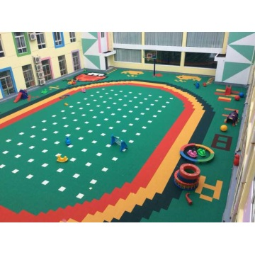 Children's Playground PP Court Tiles Sports Flooring