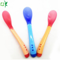 Food Grade Silicone Baby Soft Spoon for Infant