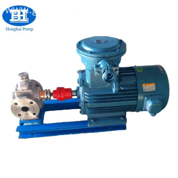 Good Quality Stainless Steel Circular Arc Gear Food Oil Pump