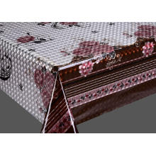 3D Embossed Printed PVC Table cloths