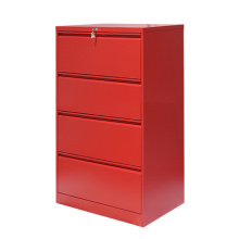 Steel 4 Drawer Lateral File Cabinet With Lock