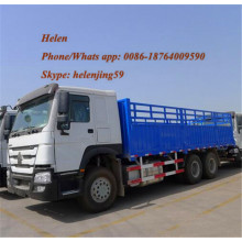 China for Tractor Truck Heavy Duty 6x4 Fence Grocery Cargo Truck supply to Congo Factories