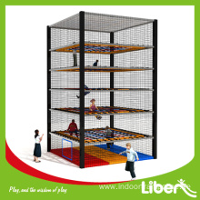 Indoor climbing trampoline for kids