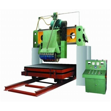 Roadside Stone Marble Sheet Granit Plat Cutting Machine