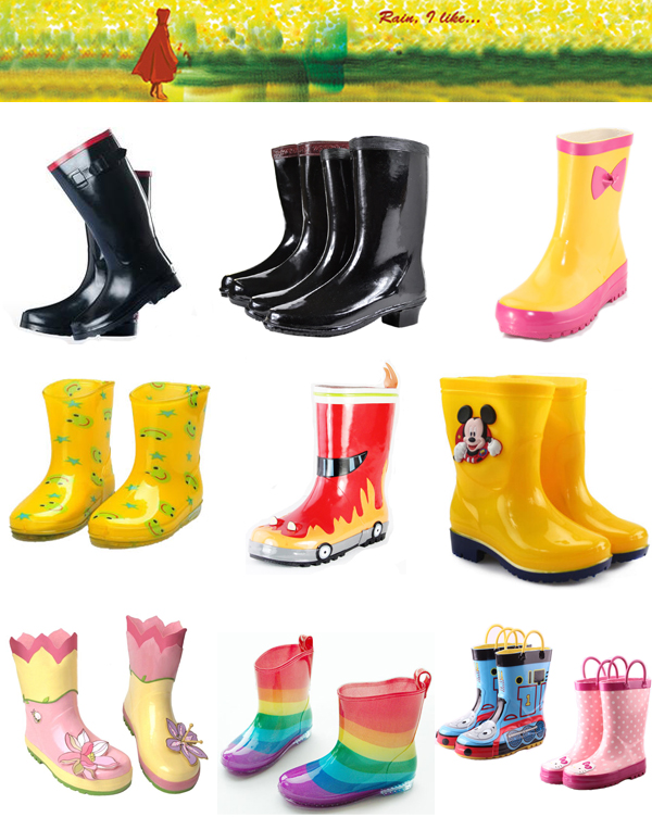 Rubber RainBoots