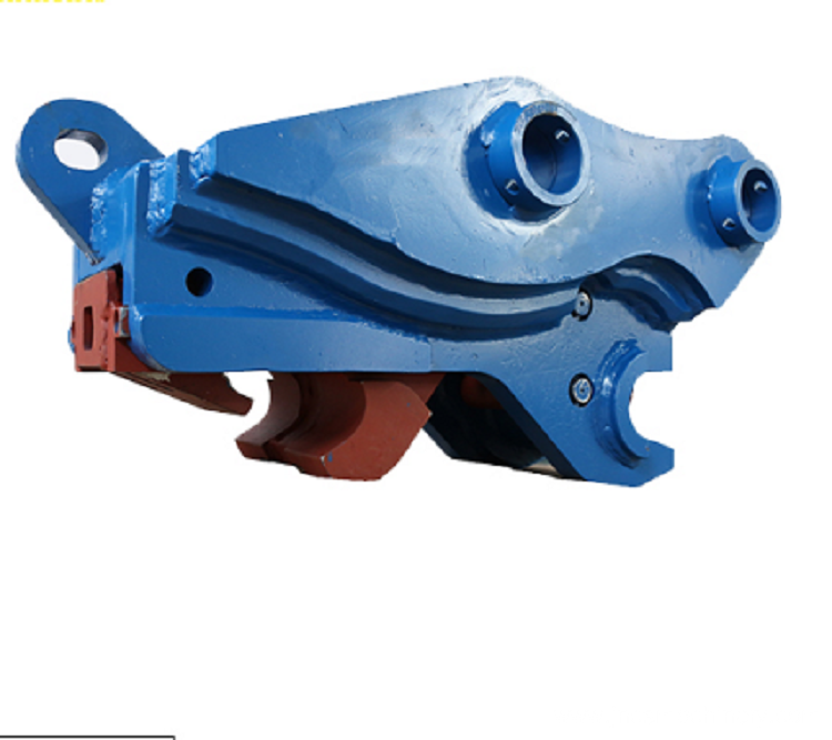 Excavator quick hitch quick coupler