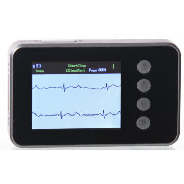 24 Hours Android IOS Bluetooth ECG Holter Monitor