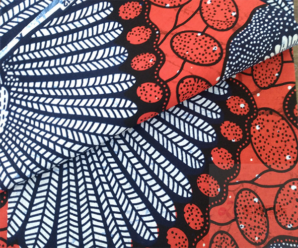 Wax Print Fabric For Clothing