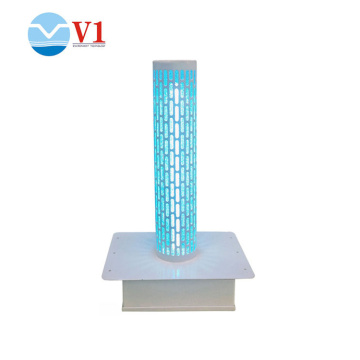 Tio2 germicidal uv light air purifier for hvac