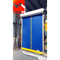 PVC auto recovery self adjusting door
