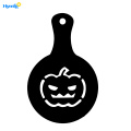 Set of 8pcs Plastic Halloween Coffee Cupcake Stencils
