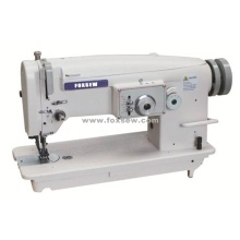 Flat Bed Unison Feed Zigzag Sewing Machine with Large Hook