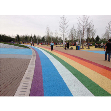 Colourful Synthetic EPDM Rubber Granules   Courts Sports Surface Flooring Athletic Running Track