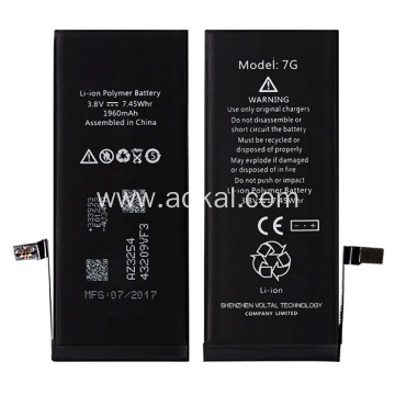 High definition Cheap Price for Battery Pack For iPhone 7 Brandnew iPhone 7 Replacement Li-ion Battery supply to Portugal Wholesale