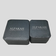 Custom Silver Floral Jewelry Collection Gift Plastic Box