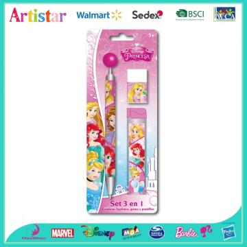 Disney Princess 3-piece blister card set