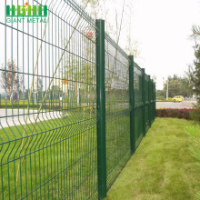 PVC Coated Triangle Bending Security Wire Mesh Fence