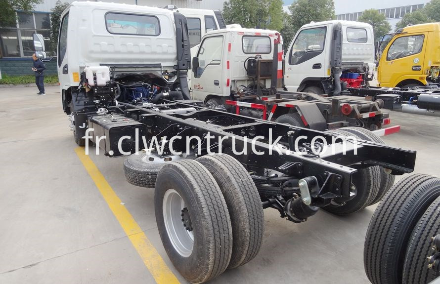 Light Duty Towing vehicle chassis 4