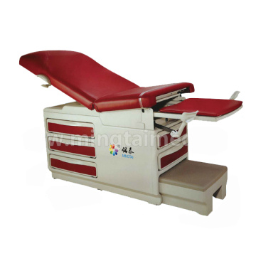 Multifunction gynecological operating table