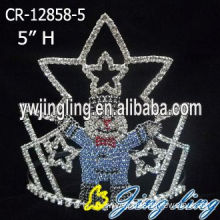 Reliable for China Christmas Snowflake Round Crowns, Candy Pageant Crowns, Party Hats. Christmas Jewelry Custom Pageant Crowns supply to Ecuador Factory