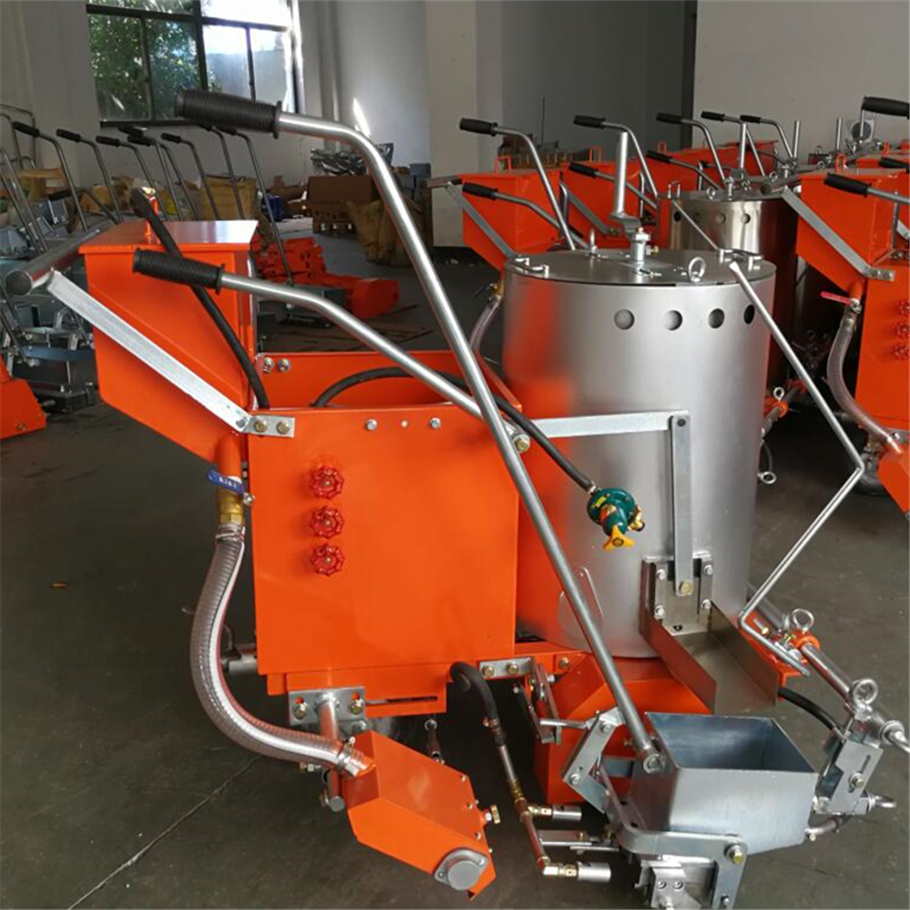 Walk Behind Thermoplastic Road Painting Machine
