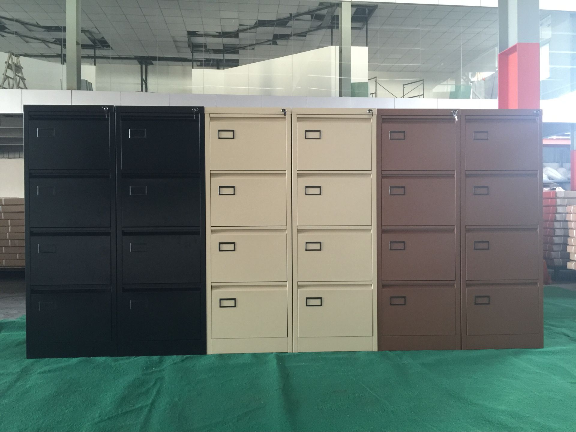 Pop 4 drawer filing cabinet