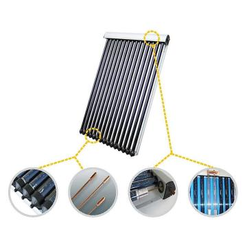 High-efficient heat pipe solar collector 24 tubes