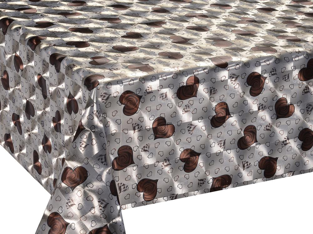 Double Face Silver Coating Table Cloths