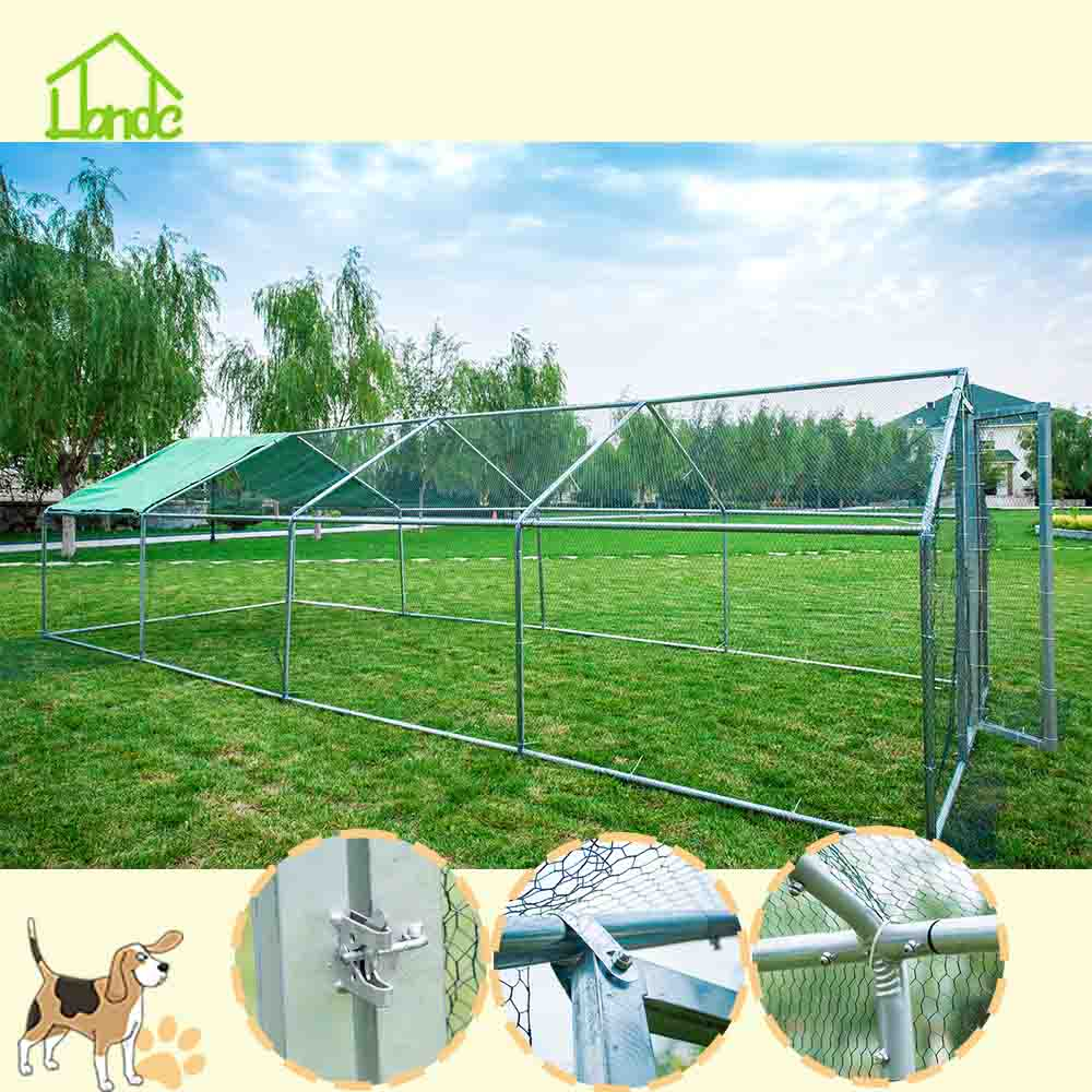 Best-Selling Large Galvanized Metal Chicken Coop